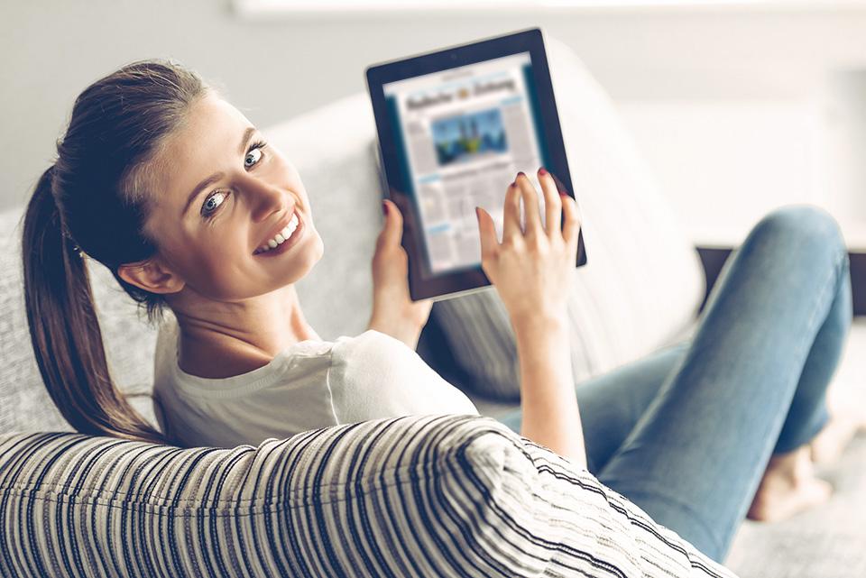 abo service abonnement badische zeitung. Black Bedroom Furniture Sets. Home Design Ideas