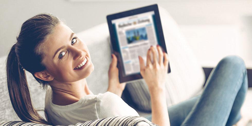 bz digital premium inkl tablet smartphone oder barpr mie abo shop badische zeitung. Black Bedroom Furniture Sets. Home Design Ideas