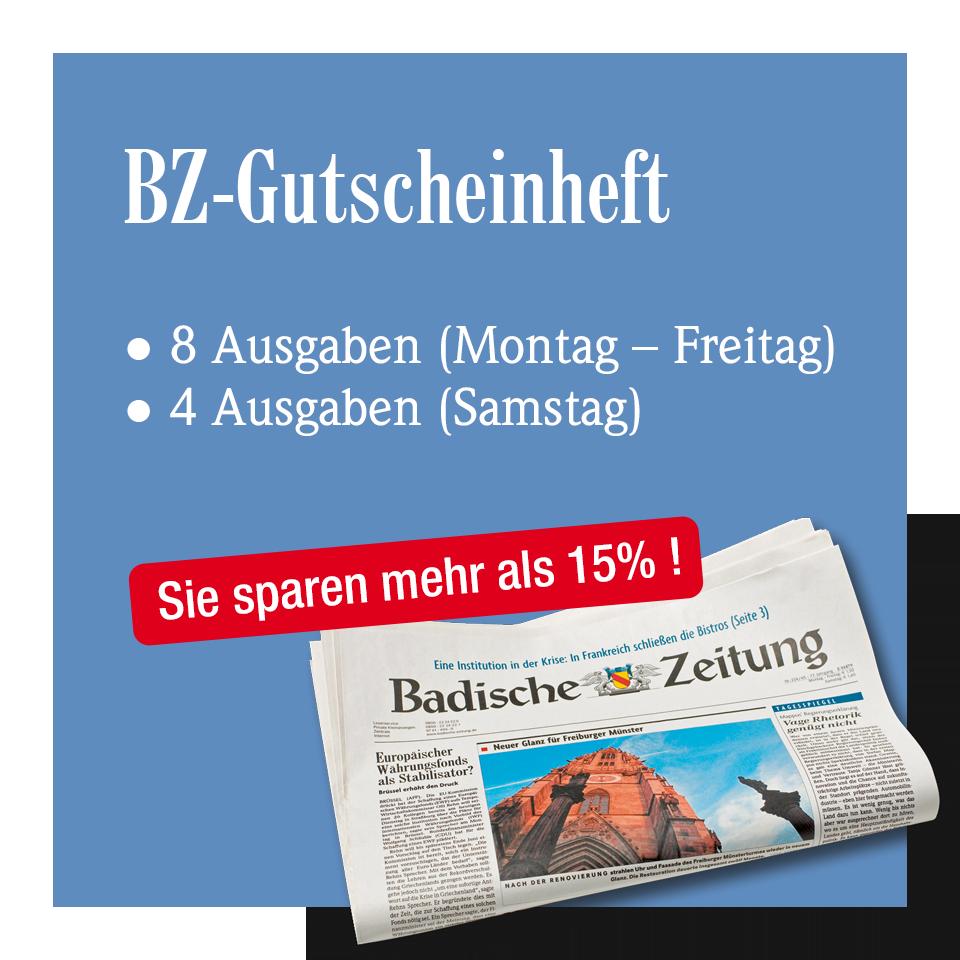 Das BZ-Gutscheinheft
