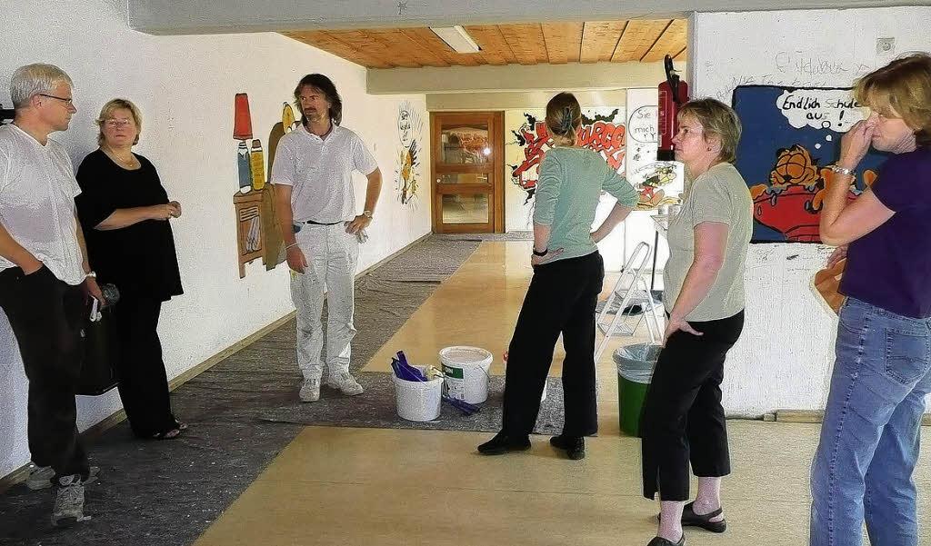 Weiße Holzdecke : Weiße Holzdecke : Baustellenbesprechung und ...