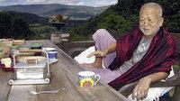 Der Gartenpinkler aus Bali