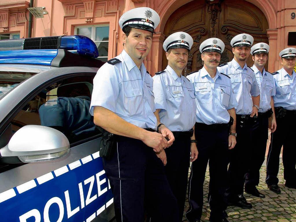 Die Polizei trägt jetzt blaue