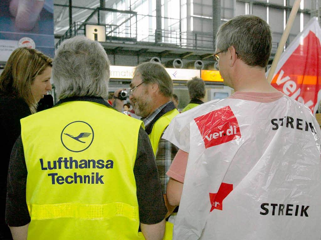 """""""Lufthansa ist auf uns"""