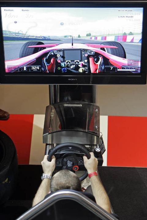Auch die neue Version von Gran Turismo 5 wird in Leipzig präsentiert.    Foto: dpa