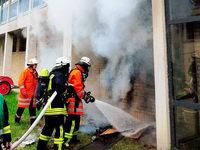 Polizei sucht nach Brandstifter am MPG