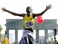Gebrselassie luft Marathon-Weltrekord