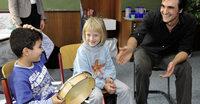 Trommel bringt Ruhe in die Klasse