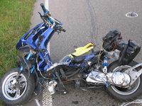 Schwerer Unfall bei B 36-Pendlerparkplatz