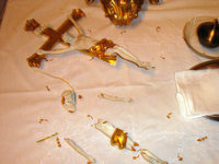 Kirche in Offenburg-Zunsweier geschändet