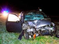 Allmannsweier: Unfall mit Traktor und Ford