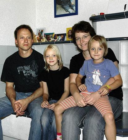 Rainer und anja bauer mit ihren töchte wegziehen kam für sie nie