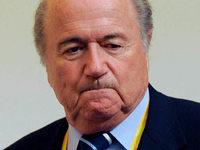 Blatter verursacht Unfall