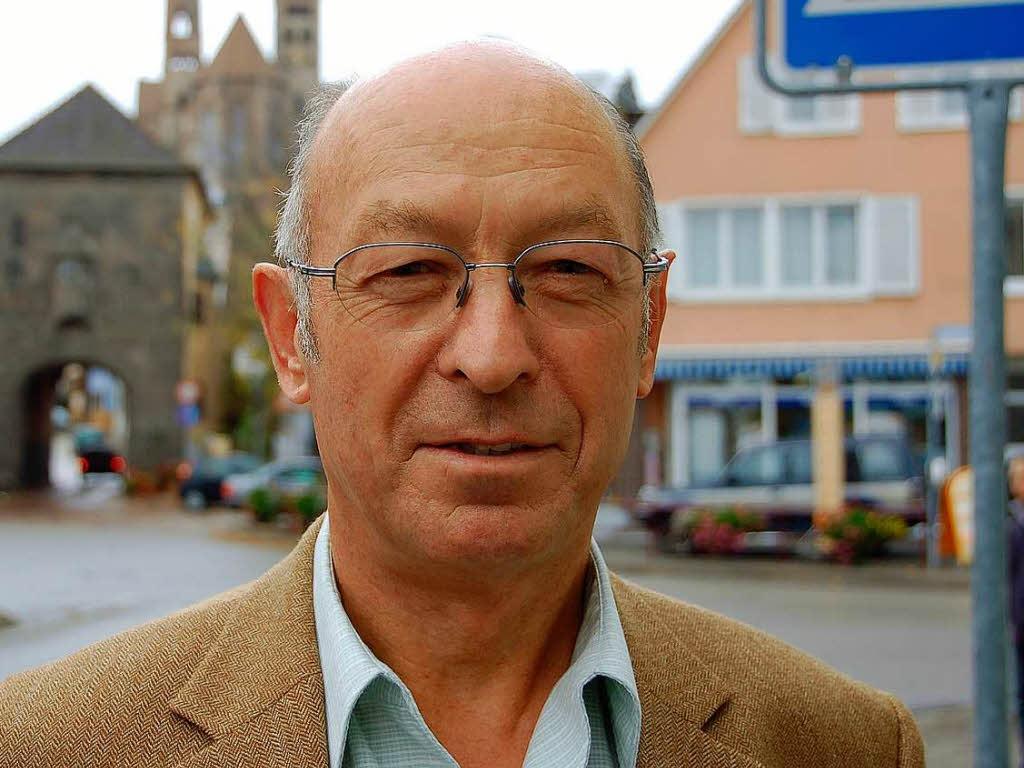 Breisachs Baudezernent <b>Horst Wolf</b> ... - 7249981