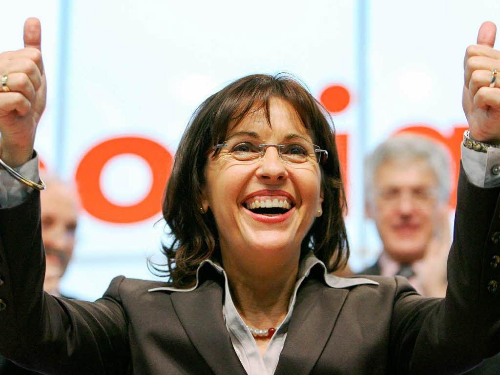 Deutschland hessen spd ja zum koalitionsvertrag andrea for Koch ypsilanti