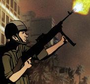 NEUSTART: Vom Krieg gezeichnet