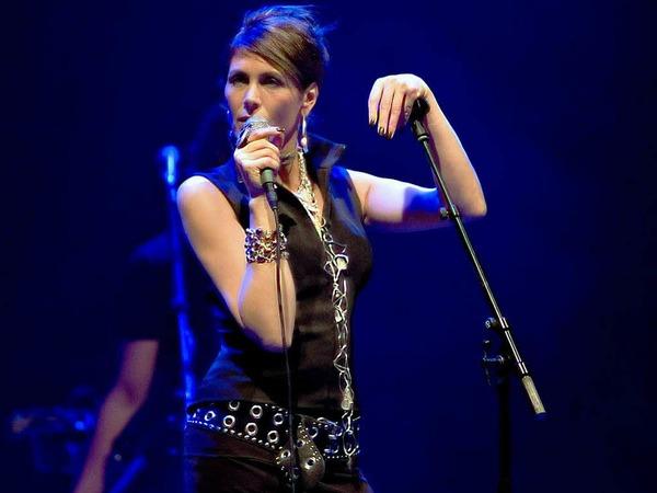 Die norwegische Sängerin Kari Bremnes