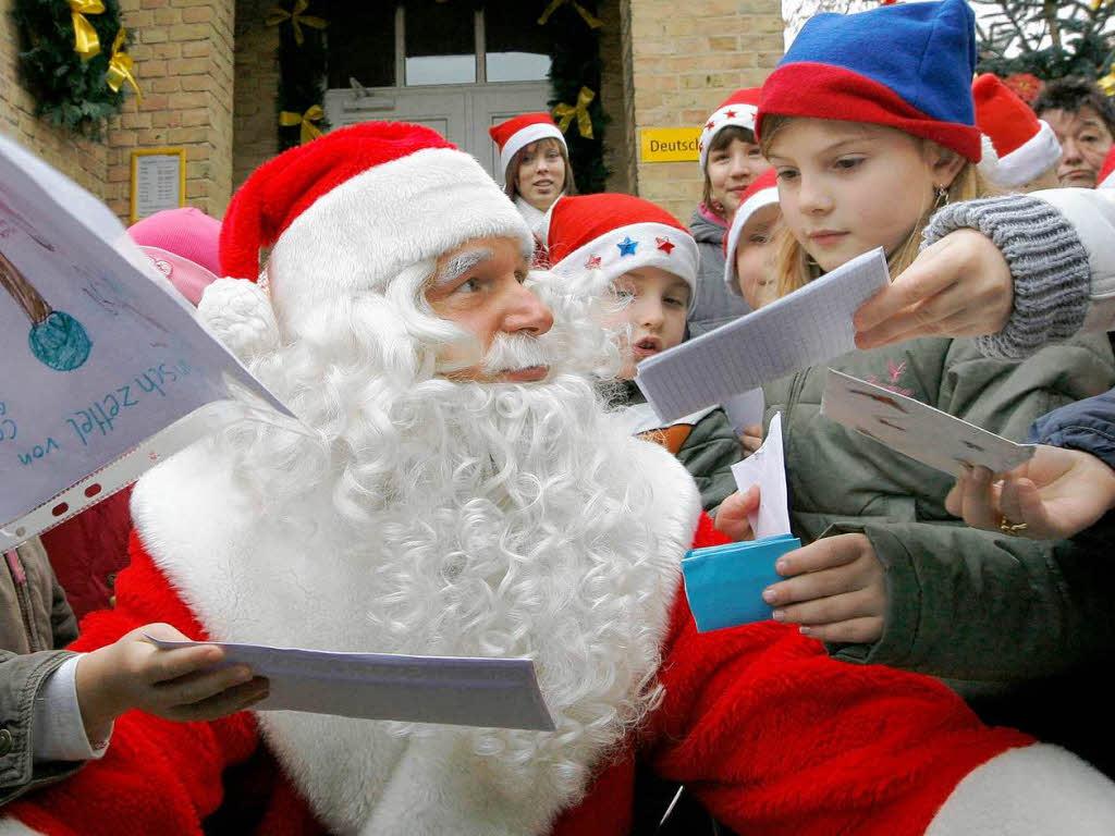 Briefe Nach Himmelpfort : Post für den weihnachtsmann neues kinder badische