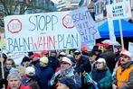 Fotos: Demo in Lahr gegen die Bahnpl�ne