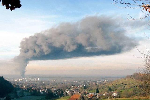 Chronik: Der Gruninger-Brand im Rückblick