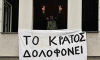 Demonstranten besetzen griechisches Konsulat in Berlin