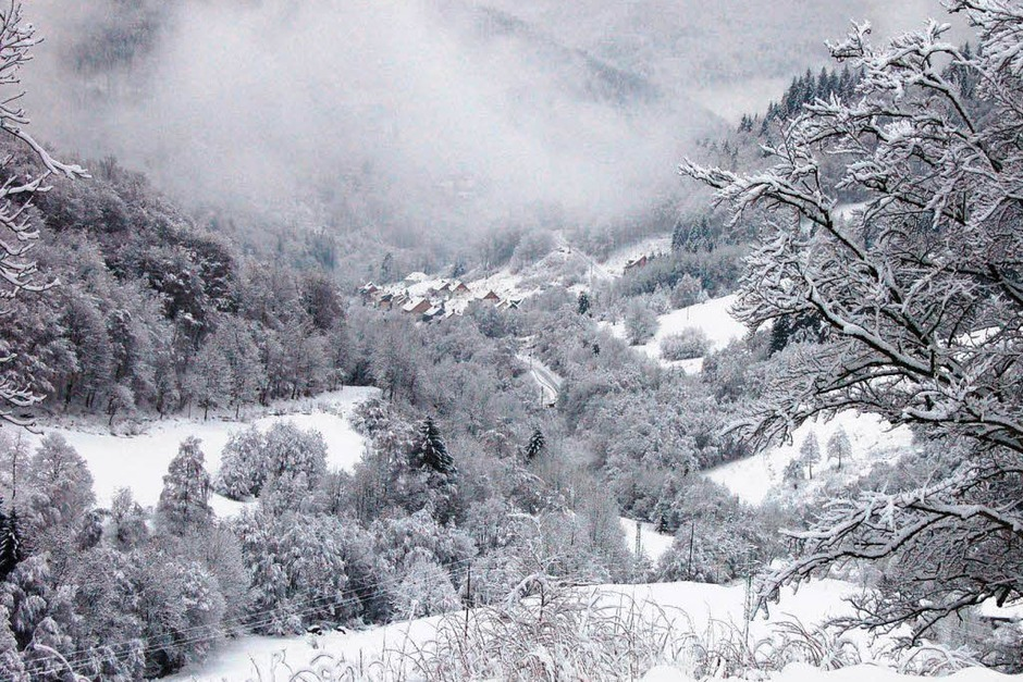 Todtnau in Nebel gehüllt (Foto: Kathrin Blum)