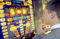 Konzentriertes Glücksspiel