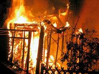 Hoher Schaden bei Holzschopfbrand