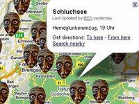 Mit Google Maps zum richtigen Ort