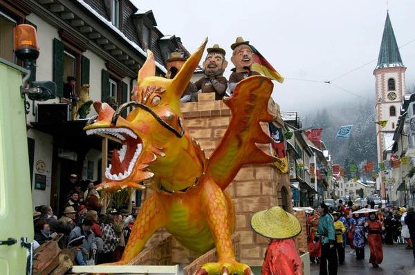 Chinesischer Drachen aus  der Mittelstadt