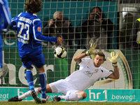 SC Freiburg gewinnt gegen Wehen-Wiesbaden mit 1:0