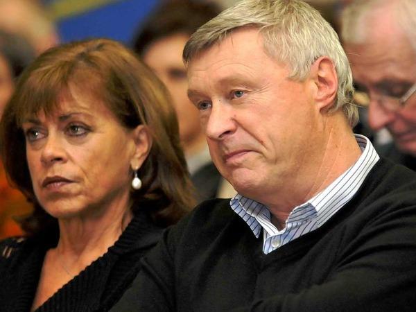 ürgen Friederlein, Sprecher der Interessengemeinschaft Altlasten Stolberger Zink und seine Frau Christine Fiederlein-Berger.