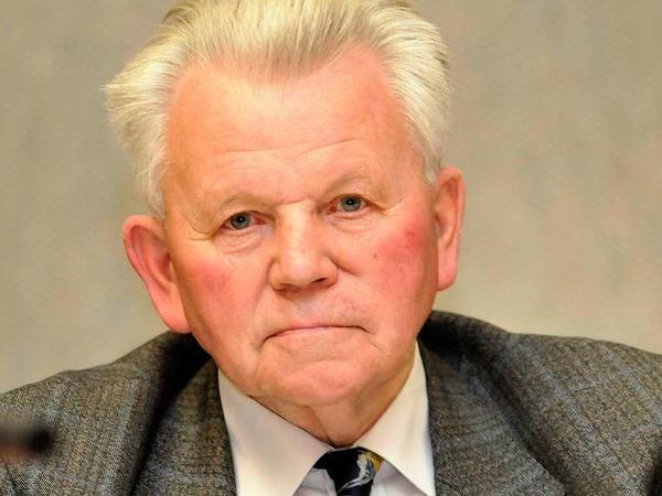 Ortsvorsteher Rudolf Gro�