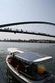 Solarfähre geht wieder auf Kurs