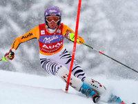 Maria Riesch gewinnt Slalom-Weltcup