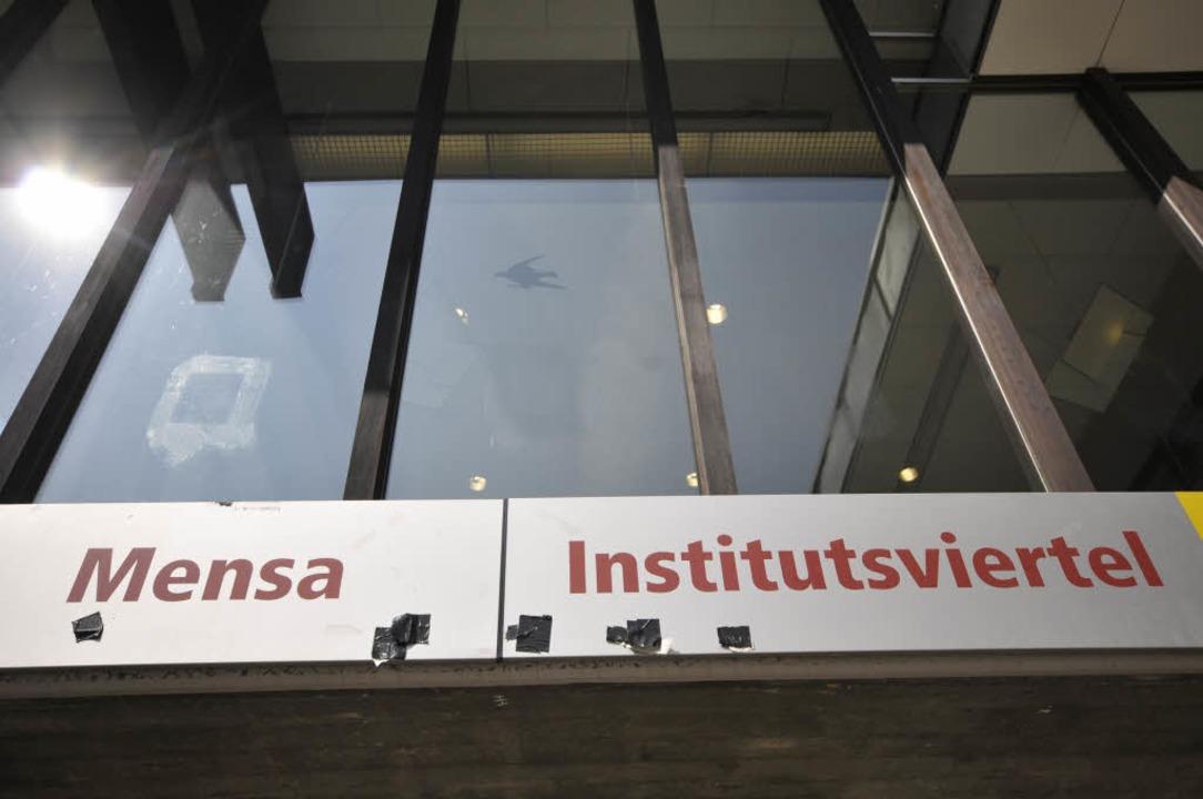 Bis Mitte Oktober bleibt die Mensa im Institutsviertel zu.  | Foto: sasse