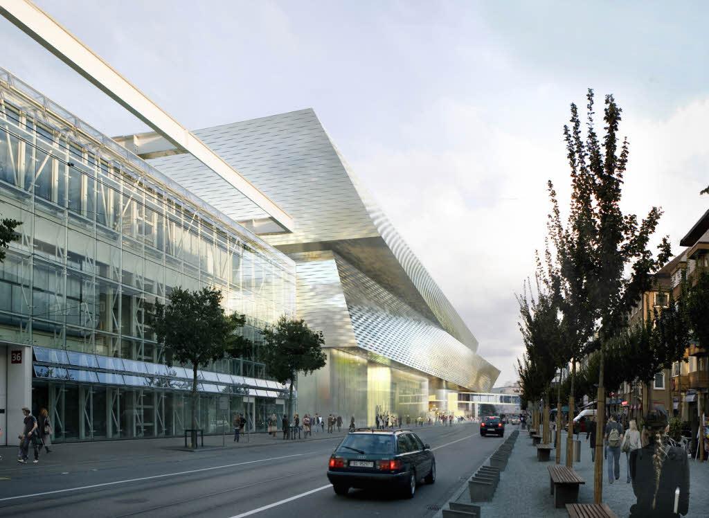 Basel messezentrum 2012 deutsches architektur forum - Architektur basel ...