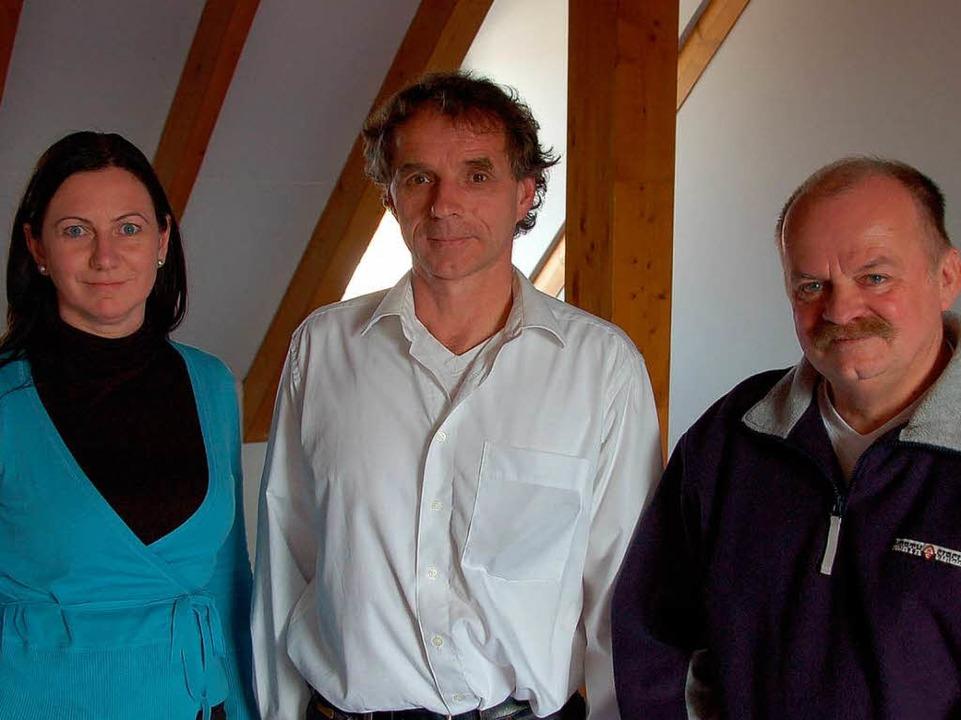 Sie gehören zum Legal Team beim  Nato-...t, Harald Schandl und Reinhard Kirpes.  | Foto: Helmut Seller