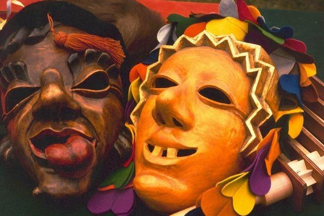 Ob Maske, Scheme oder Larve: Narren brauchen Holz vorm Gesicht