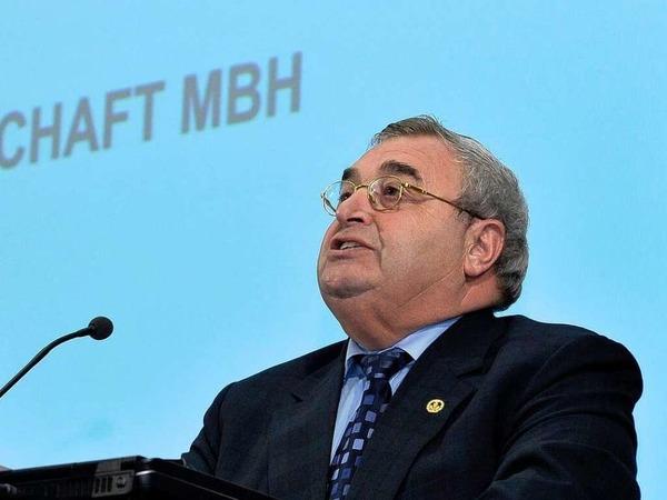 Handwerkskammer-Präsident Martin Lamm