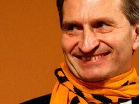 Oettinger besucht den SC Freiburg