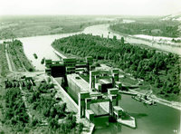 Das alte Gesicht des Rheinufers