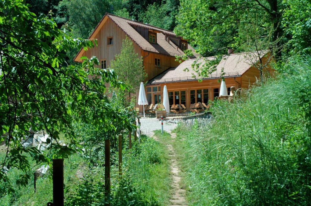 Die Waldgaststätte St. Barbara in Littenweiler eröffnet erst am 15. April.  | Foto: Brigitte Sasse