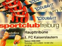 Teurer Ebay-Handel mit SC-Freiburg-Tickets