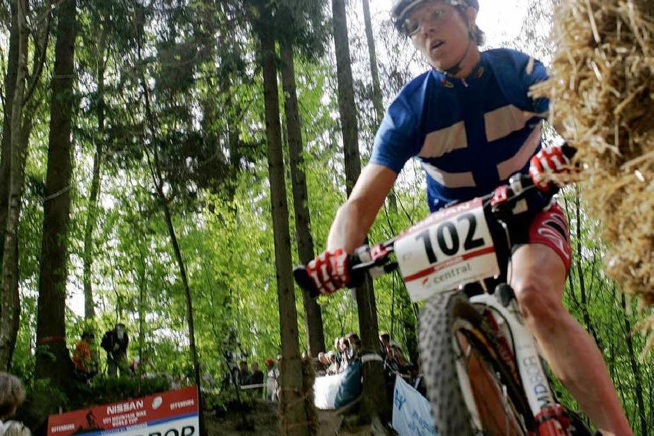 Mountain Bike Weltcup 2009 Offenburg (Foto: Peter Aukthun-Görmer)