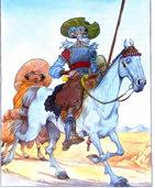Der Ritter mit dem kläglichen Gesicht