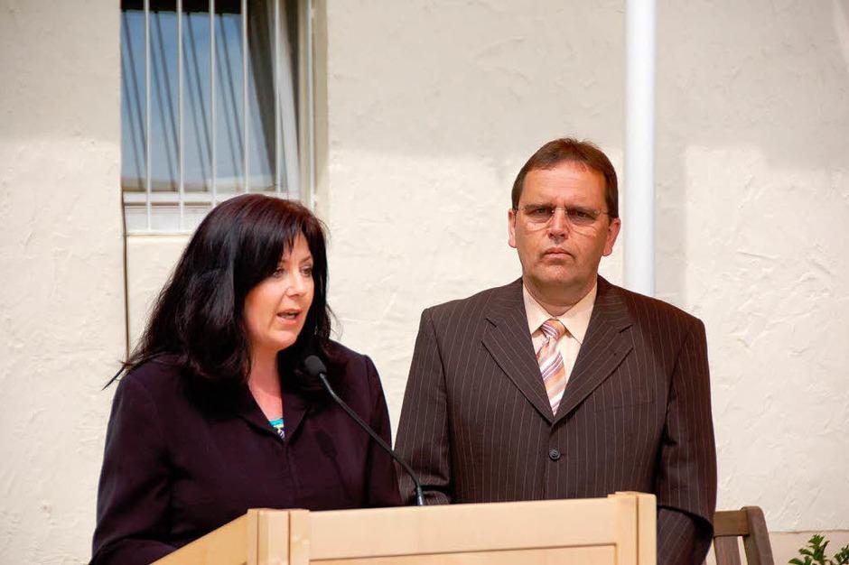 Marie-Luise Stecker und Edgar Kern führten durch das Programm (Foto: Andrea Gallien)