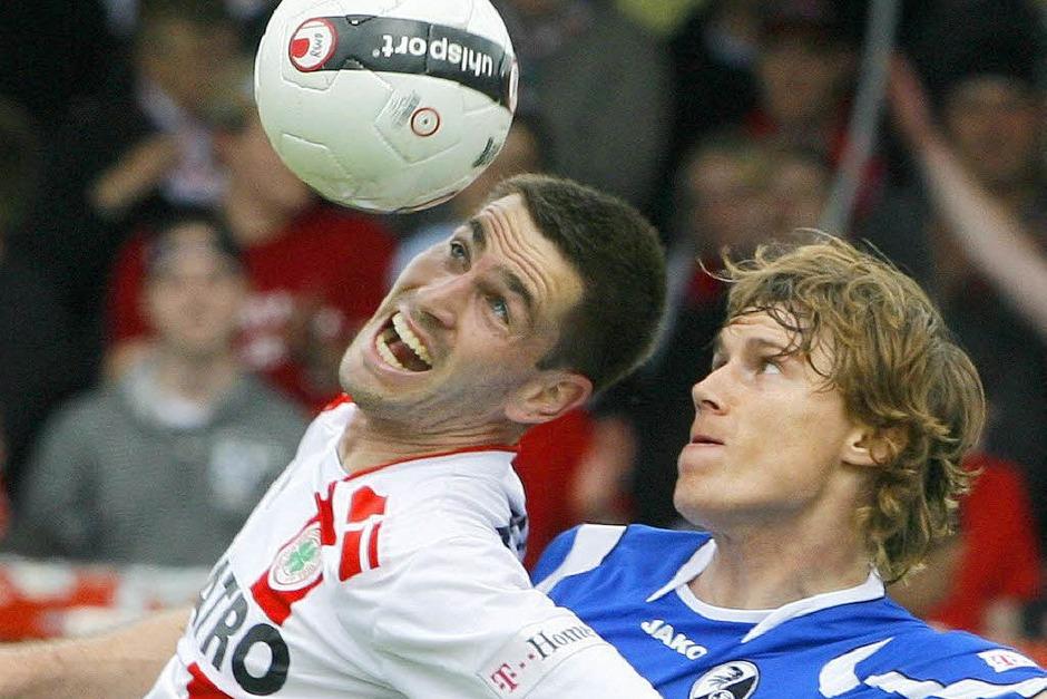 SC Freiburg gegen RW Oberhausen. (Foto: dpa)