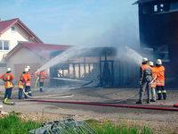 Unadingen: Garagenfeuer wird zu Großbrand