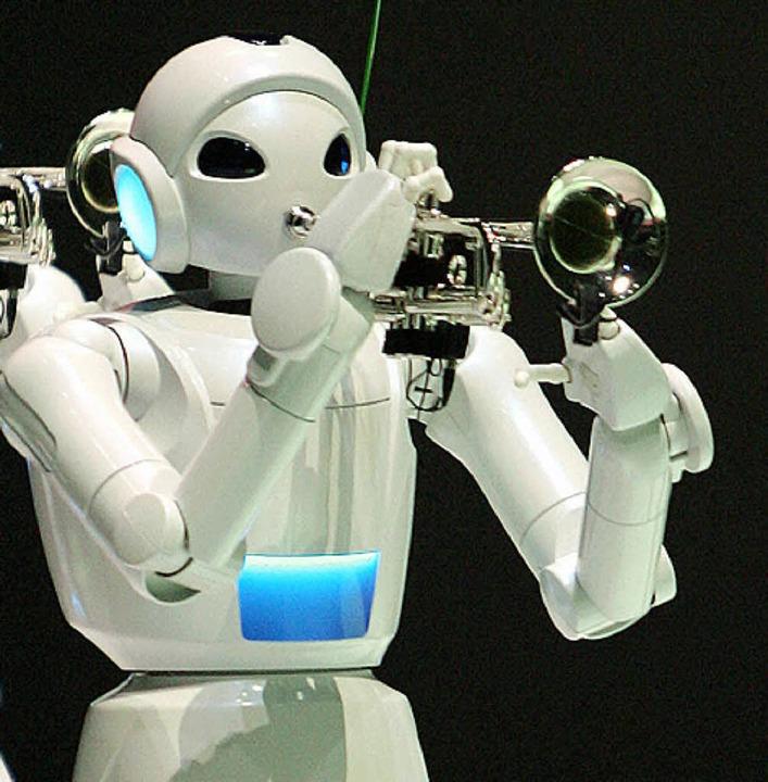 Das Ziel: Künstliche Intelligenz    Foto: YOSHIKAZU TSUNO