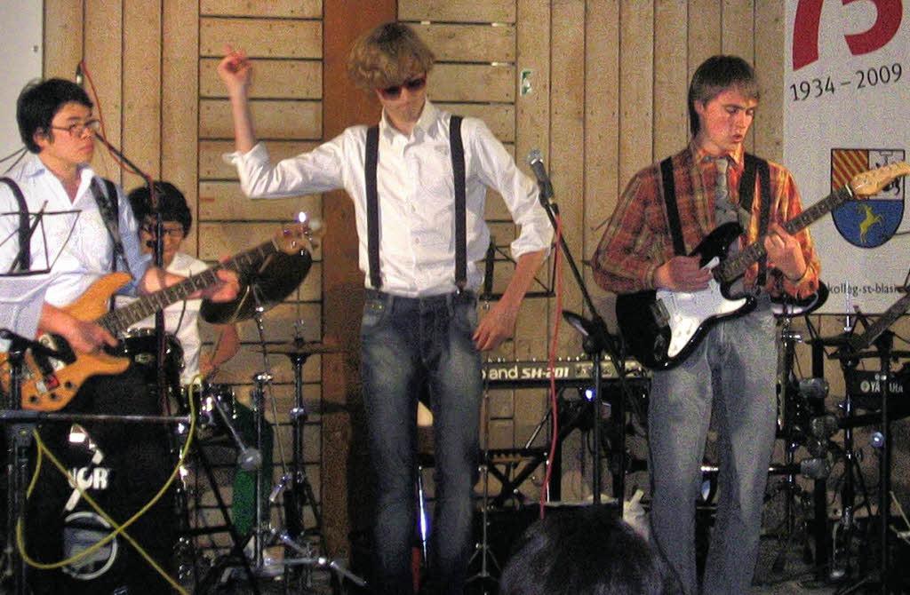 Zum Star avancierten Vincent Esterhazy (Mitte) und seine Band